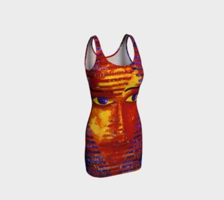 Conundrum III, Abstract Purple & Orange Goddess preview