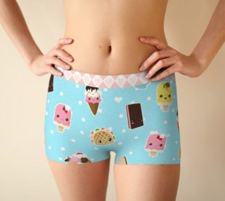 Kawaii Ice Cream Boyrshorts aperçu