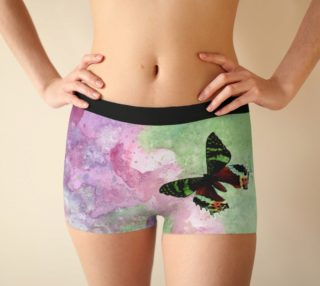 Urania Ripheus butterfly Boyshort preview