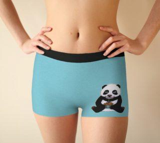 Baby panda's birthday Boyshort preview