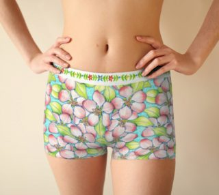 Apple Blossom Boyshorts preview