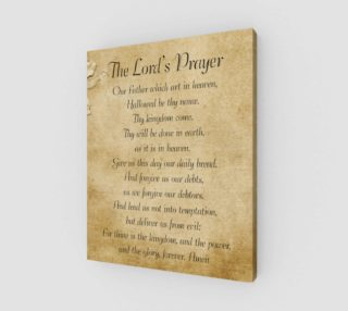 The Lord's Prayer 16x20 preview