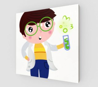 Stylish poster with Little chemist I. preview