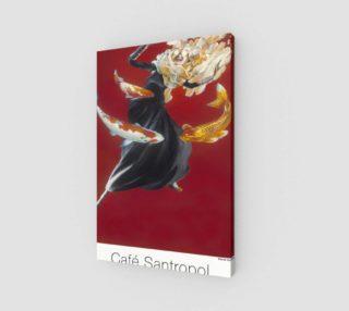 Cafe Santropol - Woman & Goldfish preview