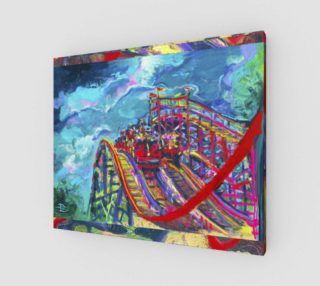 Roller Coaster Circus Fashion-Match / Virtual-Frame-in-Print preview