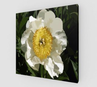 Nobel Yellow Peony Print preview