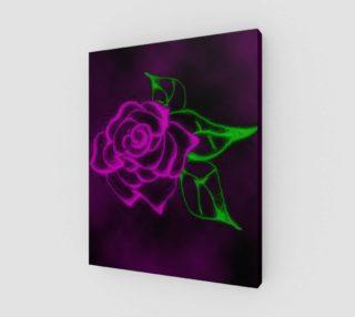 Aperçu de Fractal Rose fantasy art print by Tabz Jones