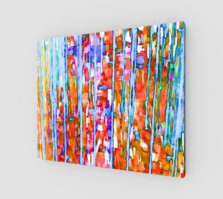 Aperçu de water color in the rain art print large
