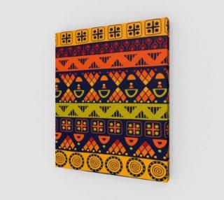Aperçu de Bright African Pattern
