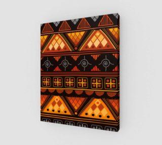 Aperçu de Bright Aztec Pattern