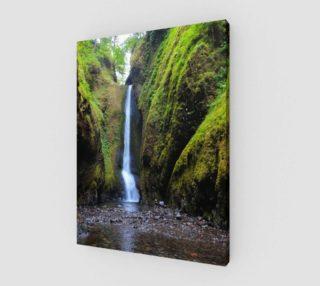 Aperçu de Oneota Falls, Oneota Gorge, Oregon