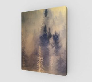 Spirit Trees on wood preview