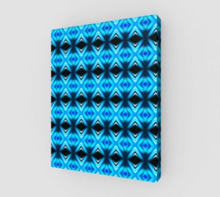 Blue Abstract Mirror Pattern  preview
