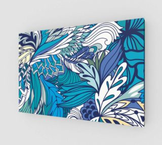 Blue Fantasy Flowers   preview