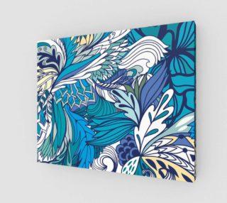 Aperçu de Blue Fantasy Flowers
