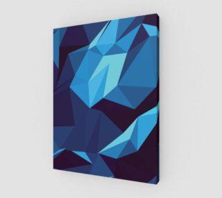 Aperçu de Blue Geometric Pattern