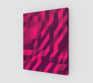 Aperçu de Pink Geometric Pattern