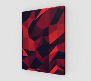 Aperçu de Red Geometric Pattern