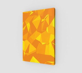 Aperçu de Yellow Geometric Pattern