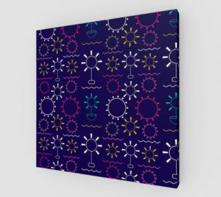 Aperçu de colorful geometric artsy floral