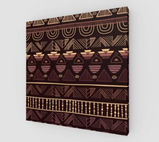 Aperçu de Dark Brown Ethno Pattern