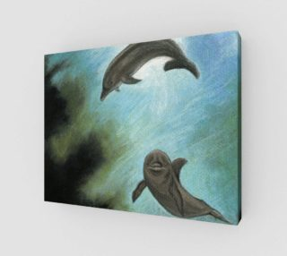 Dolphins underwater preview