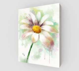 Daisy Watercolor Painting preview
