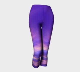 Purple Sunrise Capris workout pants preview