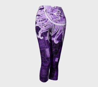 Purple Bohemian Goddess Capris preview