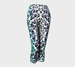 Rainbow Glitter Leopard Leggings preview