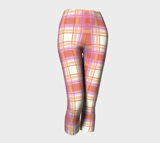 Plaid in Peach, Yellow and Pink preview