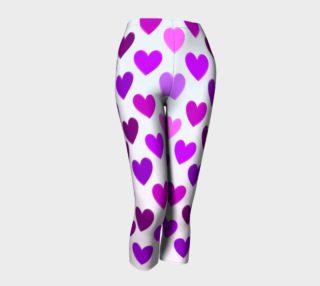 Purple Hearts Capris preview