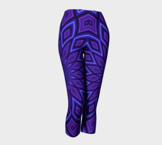 Purple Kaleidoscope Capris preview
