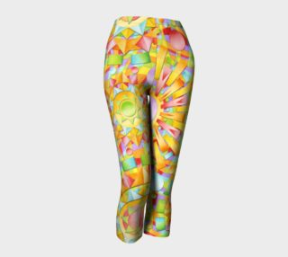 Candy Rainbow Mandala capris asymm. preview