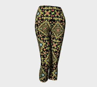 Cottage Garden Capri Leggings preview
