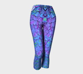 Purple Large Scale Mermaid Capris preview