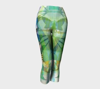 Graceful Sappling Collage Capris by Deloresart preview