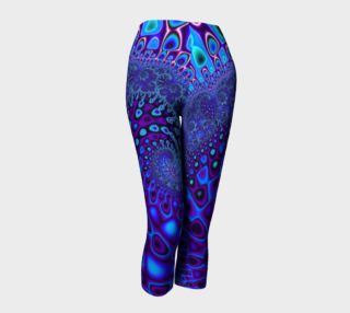 Blue wave capri leggings preview