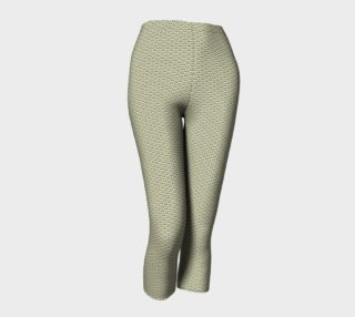 GREY & LINEN SCALE CAPRIS LEGGINGS preview