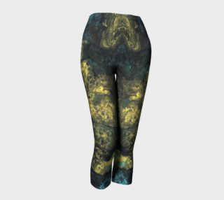 Yellow Splash Capri Leggings preview