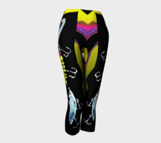 The New a-Lure-ing You Daring Cowgirl-Fishook Capris preview