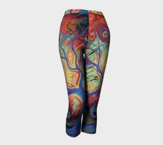 Tree of a Colourful Life Capris preview