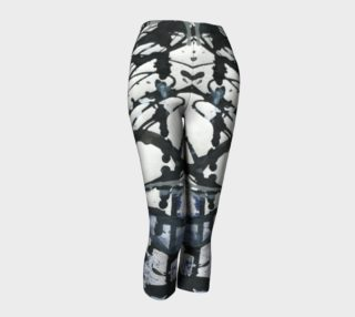 White, Black, and Blue Capris preview