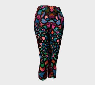 Stained Glass Capri Leggings  preview
