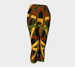 Stringy Rasta Capri Leggings  preview