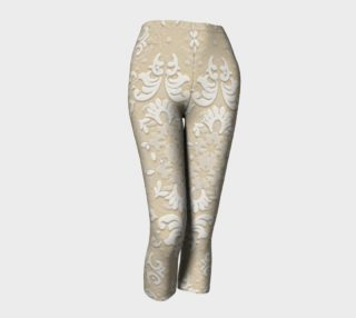 Aperçu de Nude Glitter Lace Leggings by Tabz Jones