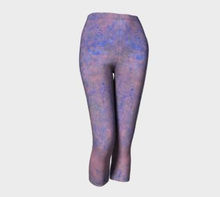 Blue and Pink Patterned Capris preview