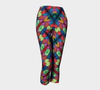 Flower Stained Glass Capris II preview
