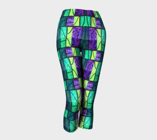Cross Stained Glass Capris preview