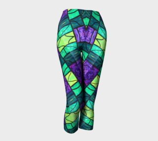Nouveau Garden Stained Glass Capris II preview